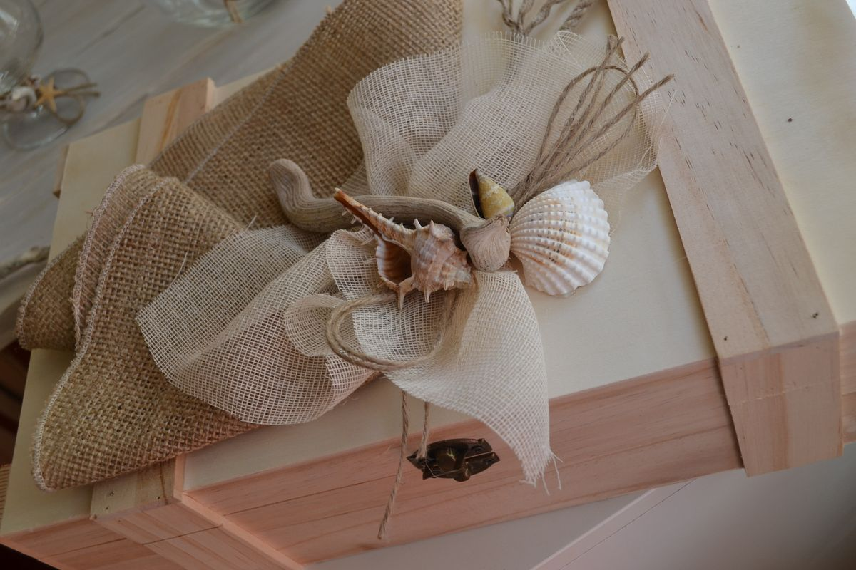 Marine Themed and Wedding Crown from Driftwood